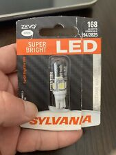 Sylvania ZEVO LED Light 168 White 6000K One Bulb 194 / 2825 New