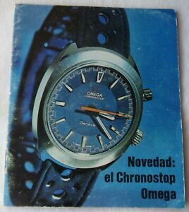 Omega Chronostop Booklet