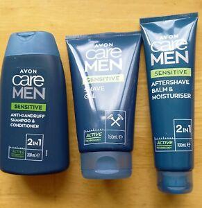 Avon Care Men Sensitive Body Wash Set