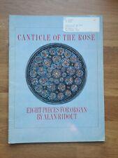 Orgel ? Canticle of the Rose (1992) ? Alan Ridout (1934-1996) *Signiert & Rar!*