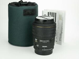 Sigma AF 105mm 1:2.8 EX Macro 1:1 obiettivo tele macro lens  Sigma SA KPR mount