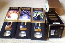 Star Wars Trilogy Special Edition Gold Box Set UK PAL VHS VIDEO 1997 3-Tape Set