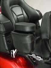 Passenger Armrest Pouch - Black - for Honda Goldwing GL1800 (H18ARCBK)