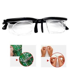 Magnifying Reading Glasses Adjustable Strength Men Women Distance Focus Glasses