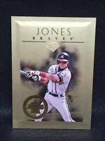 Chipper Jones 1996 Leaf 22 Karat Gold Stars 535/2500 Atlanta Braves HOF MINT