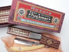 """Solinger Spitzen Rasiermesser TUCKMAR 6/8"""" Straight Razor #196 Solingen ANSEHN !"""