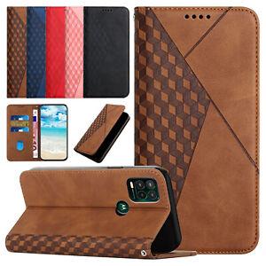 For Motorola Moto G Play/G Power/G Stylus 2021/G10/G30 Phone Case Wallet Cover