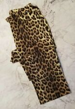 CHEAP & CHIC BY MOSCHINO Leopard Print Pants Size 10