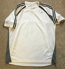 WORN ONCE  ADIDAS CIMACOOL CLIMA365 WHITE WICKING TSHIRT L LARGE COST £40