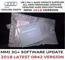 Audi A6 A7 A8 Q3 MMI 3G+ Plus Genuine Firmware Update 0942 SD Card For 2018 Map