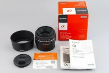 SONY DT 35mm  f1.8  SAM  SAL35F18  MINT CONDITION FROM JAPAN #0092