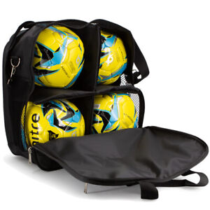 Brine Soccer Match Ball Bag Carry 4 Balls In Comfort Sports Accessory For Games