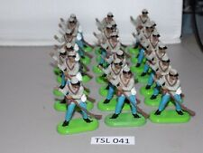 Britains Deetail 1971 Plastic toy soldier ACW CONFEDERATE Soldier (TSL 041)