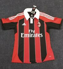 New Adidas AC Milan Soccer Jersey Men Size S small 2012 2013 season