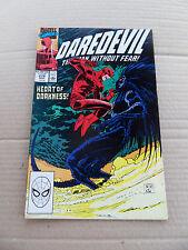 Daredevil 278 . John Romita Jr . Marvel 1990 . VF