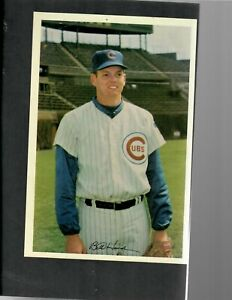 "1969 Cubs by Jewel Foods 6"" by 9"", Bill Hands, Very Good condition"