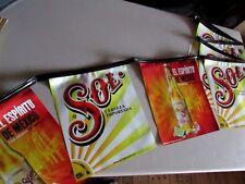 "New Sol Cerveza Importada ""Spirit of Mexico"" Bottle String Banner Man Cave Bar"