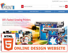 Printing Website - stationary,flyers,banners - with online designer and more...