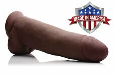SkinTech Realistic BBC 12 Inch Dildo Thick Huge Suction Dildo FTM Made In USA