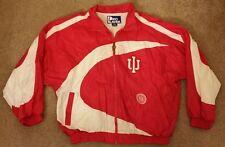 Vintage Pro Player Indiana Hoosiers IU Windbreaker Jacket XL Extra Large