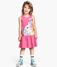 Robes rose pour fille de 4 à 5 ans