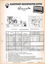 Service Manual-Anleitung für Blaupunkt Granada 20300