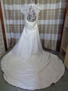 (31)Edles Damen Braut Standesamt Abend Kleid GR: 44