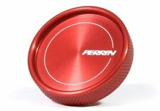 PERRIN PERFORMANCE PSP-ENG-711RD OIL FILL CAP ROUND STYLE (RED) SUBARU FRS/BRZ