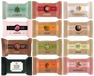 The Body Shop ~ Soap Range ~ Vegan ~ Vegetable Based ~ Rich Lather ~ 100g ~ New