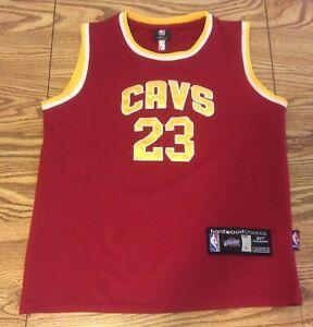 Lebron James Cleveland Cavaliers Basketball Jersey Reebok Hardwood Classics