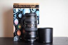 Nikon AF 80-400mm FX VR Telephoto Lens - US Model!
