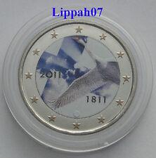 Finland speciale 2 euro 2011 Finse Bank gekleurd / coloriert / farbig