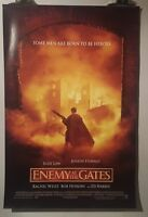 Enemy at the gates Original Cinema movie poster one sheet size Jude Law