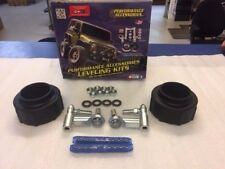 2007-2017 JEEP WRANGLER JK 1 3/4 Inch FRONT COIL SPACER W/ SOLID LINKS