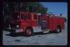 Crestwood IL 1982 Mack MS Phoenix rescue pumper Fire Apparatus Slide