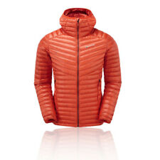 Montane Mens Future Lite Hoodie Orange Sports Outdoors Full Zip Hooded Warm