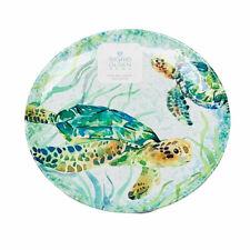 Sigrid Olsen Starfish Green Oval Melamine Serving Platter Tray
