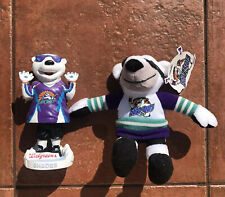 Orlando Florida Solar Bears Shades Hockey Bobbel Head & Plush Figure