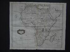 1703 Peter Heylyn Atlas map  AFRICA - Madagascar - Arabia