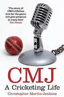 """AS NEW"" CMJ: A Cricketing Life, Martin-Jenkins, Christopher, Book"