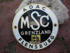 ADAC MSC Motor Sport Club West a Flensburg-VECCHIA PLACCA BADGE SMALTO