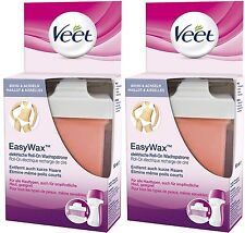 Veet Easy Wax Electrical Roll-On Refill Bikini & Underarms (2 x 50ml) Refills