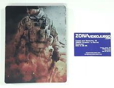 Steelbook (Caja Metálica) Medal of Honor Warfighter Limited, Ps3 No lleva juego.