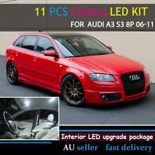 Upgrade Full LED Replacement Kit Interior Canbus Lights For Audi A3 S3 8P 06-11