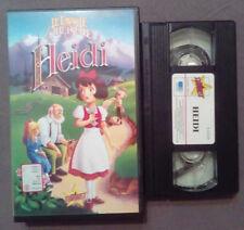 VHS FILM Ita Animazione HEIDI 1995 stardust S12159  favole piu'belle no dvd(VH61