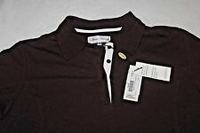 SPORT HALEY WOMEN'S SHORT SLEEVE BROWN POLO SHIRT~ SIZE M~ NWT~ RETAILS 68.00