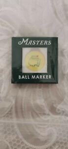 2021 US MASTERS GOLF BALL MARKER IN PRESENTATION BOX