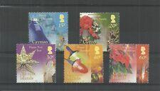 CAYMAN ISLANDS SG1032-1036 CHRISTMAS MNH