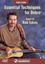 Essential Techniques for Dobro learn to play Guitar DVD
