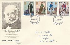 GB 1979 Centenary of the death of Sir Rowland Hill(2) FDC